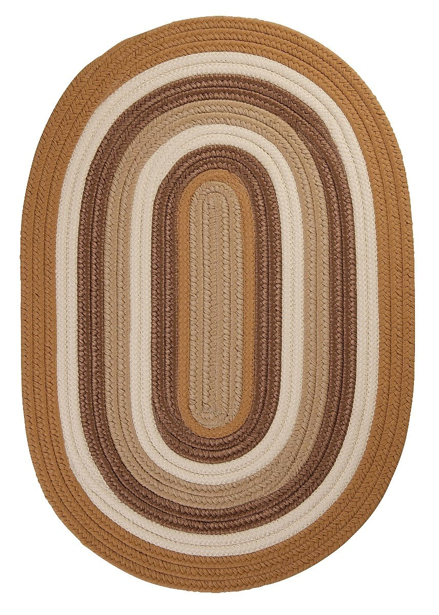 Brooklyn Amber Way Outdoor Braided Oval Rugs