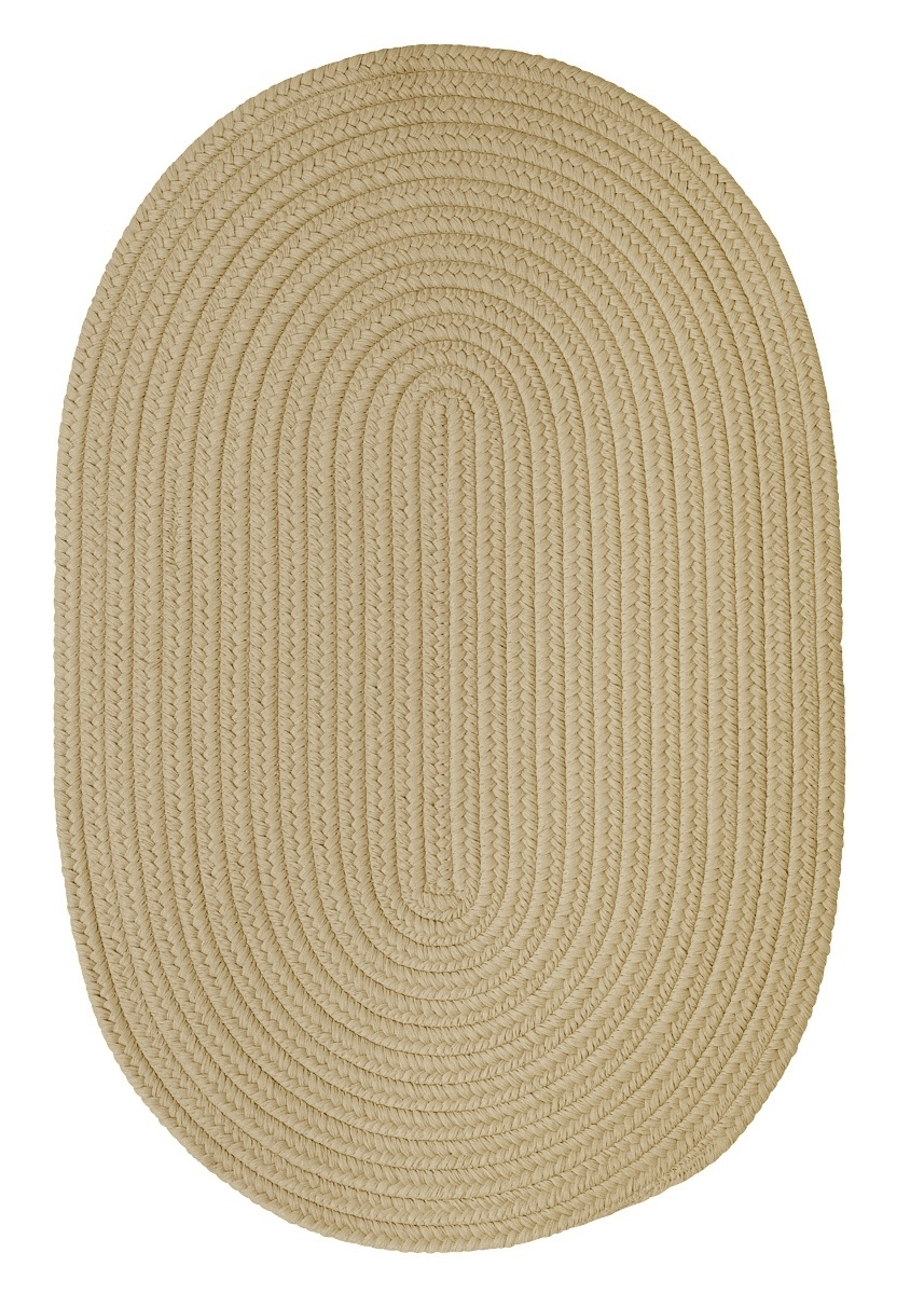 Boca Raton Linen Outdoor Braided Oval Rugs