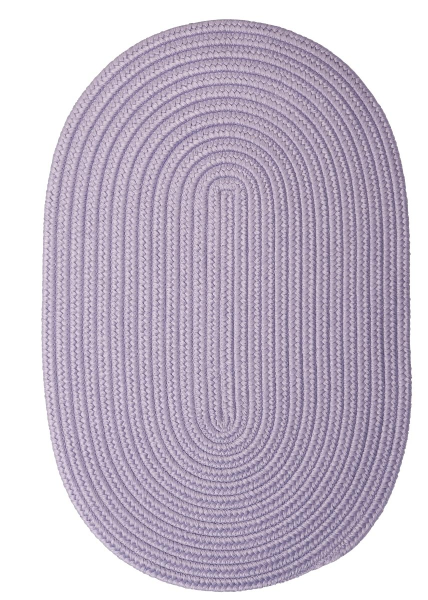 Boca Raton Amethyst Outdoor Braided Oval Rugs