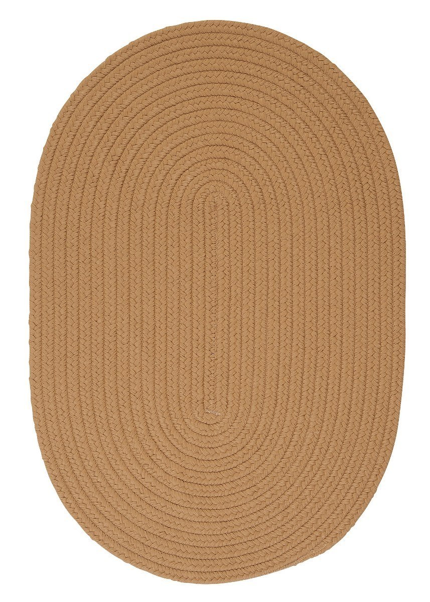 Boca Raton Topaz Outdoor Braided Oval Rugs