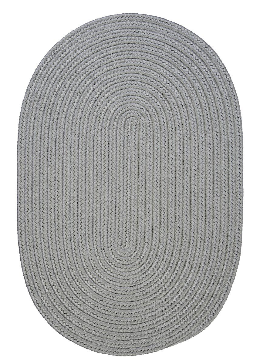 Boca Raton Shadow Outdoor Braided Oval Rugs