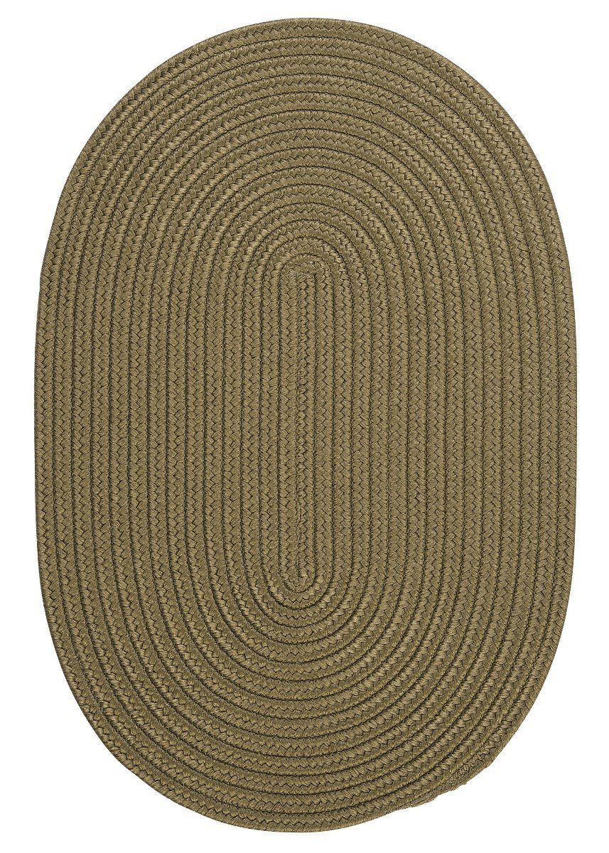 Boca Raton Sherwood Outdoor Braided Oval Rugs