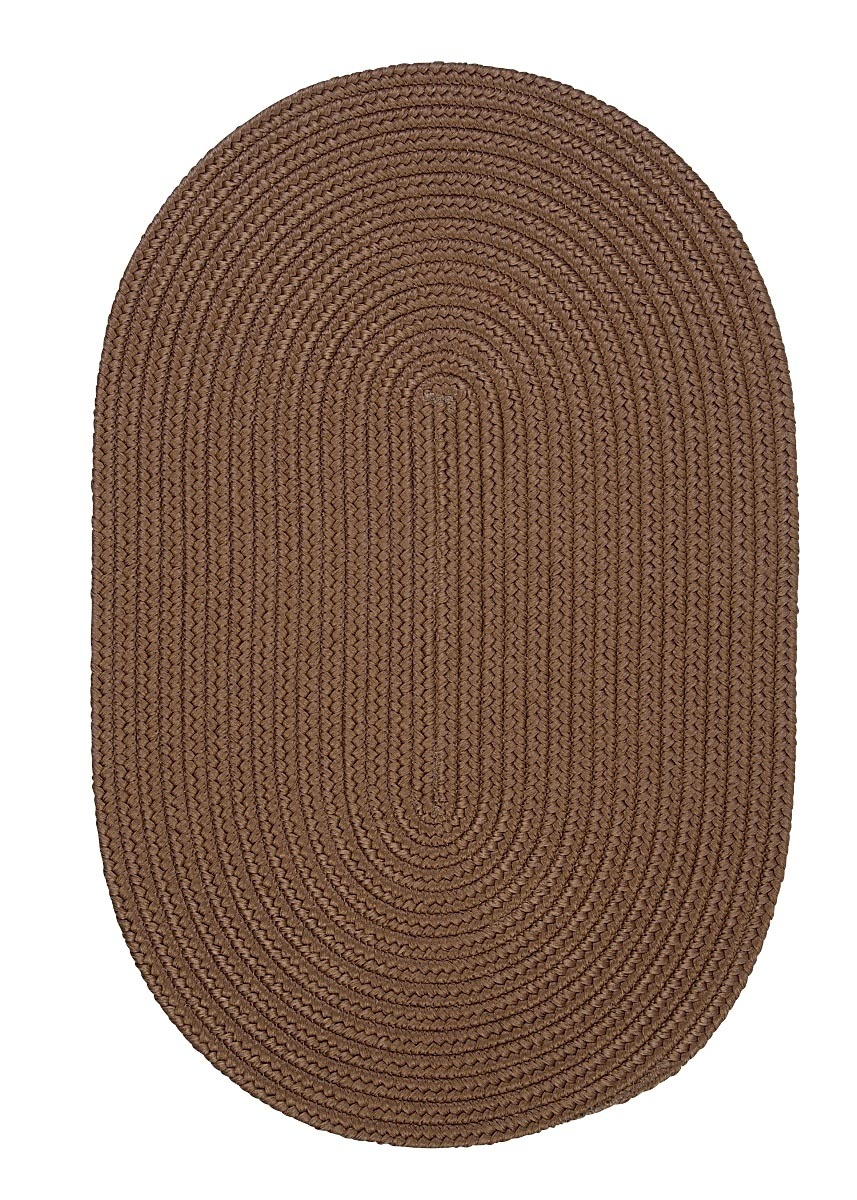 Boca Raton Cashew Outdoor Braided Oval Rugs