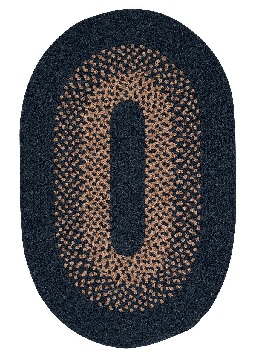 Madison Blue Moon Outdoor Braided Oval Rugs