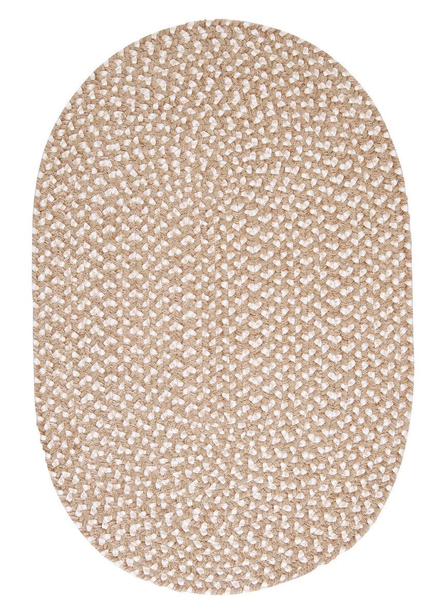 Confetti Natural Outdoor Braided Oval Rugs