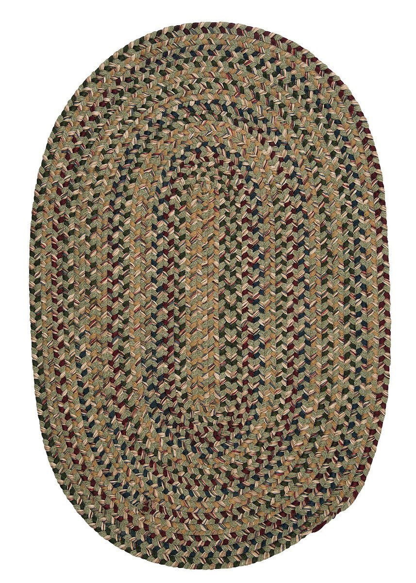 Twilight Palm Outdoor Braided Oval Rugs