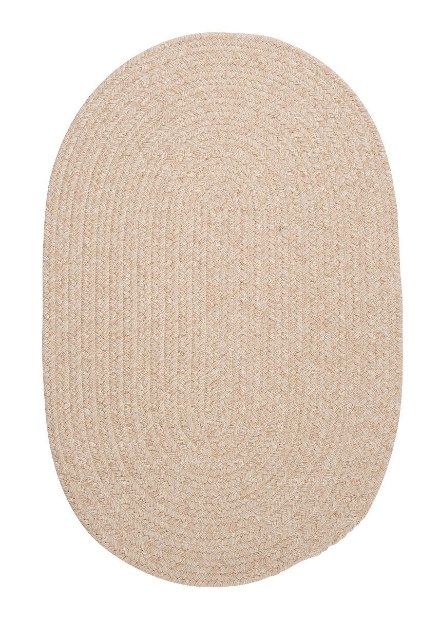 Bristol Natural Outdoor Braided Oval Rugs