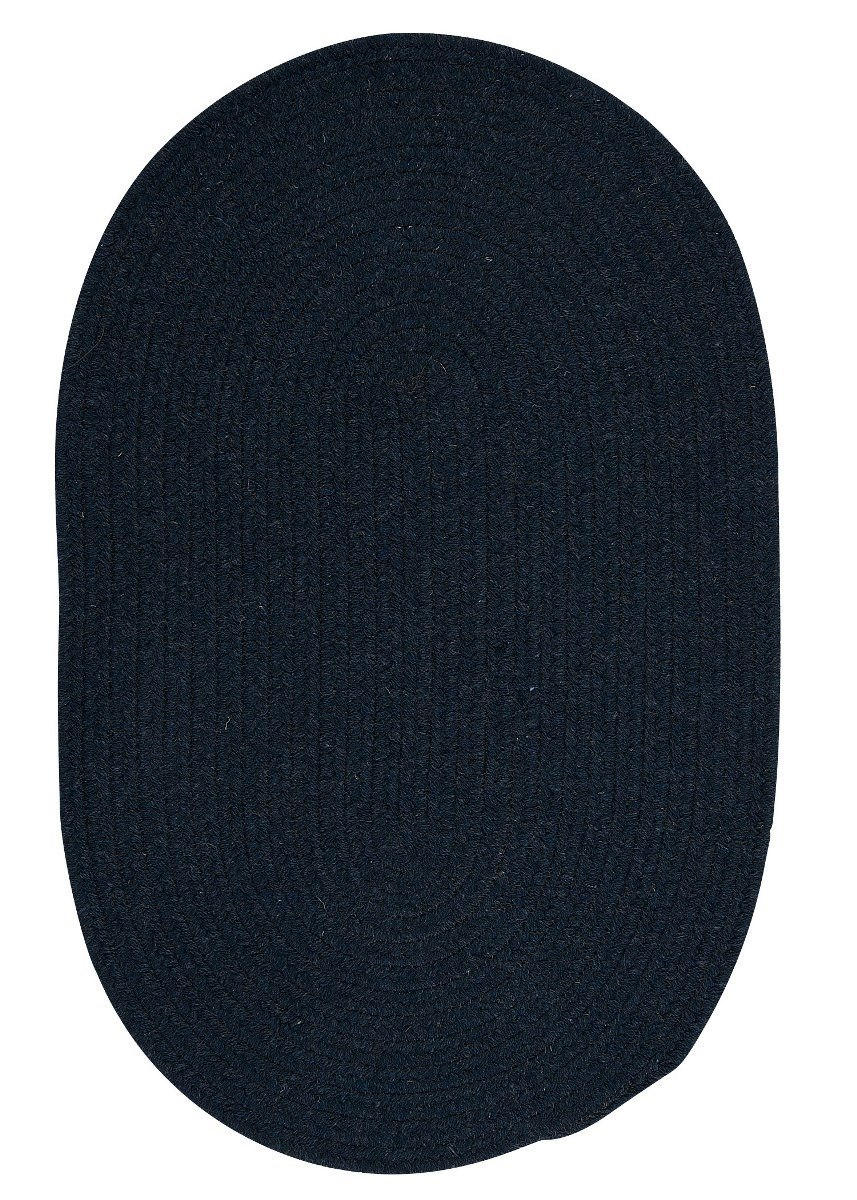Bristol Blue Moon Outdoor Braided Oval Rugs
