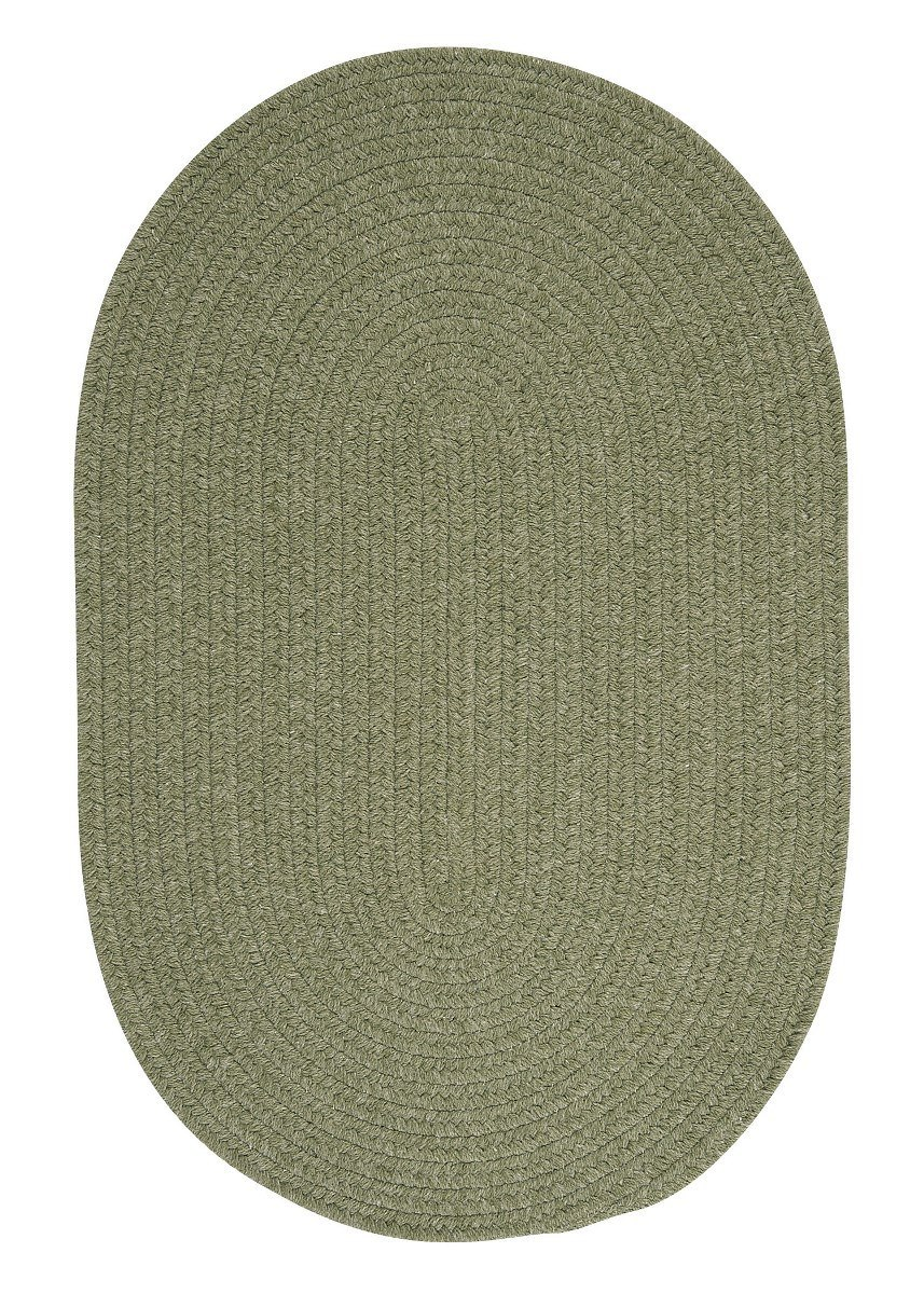 Bristol Palm Outdoor Braided Oval Rugs