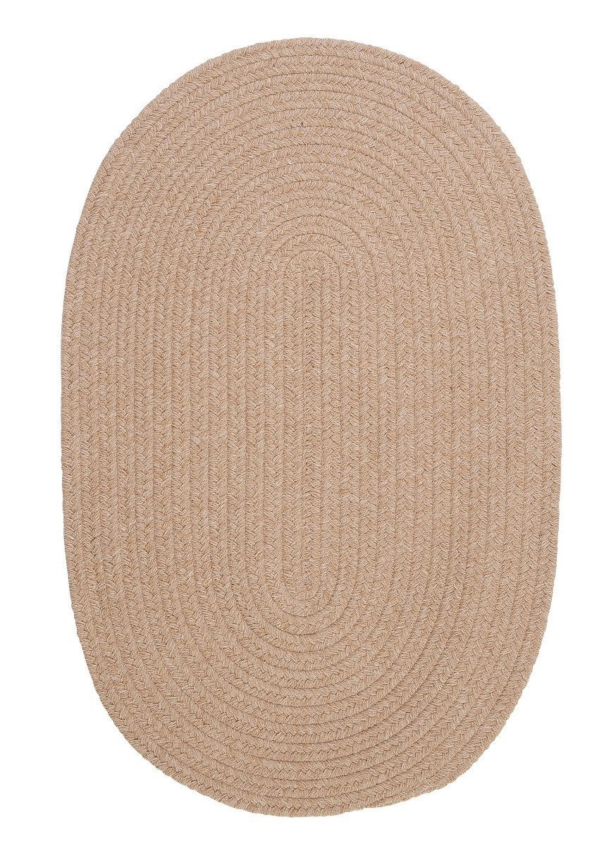 Bristol Oatmeal Outdoor Braided Oval Rugs