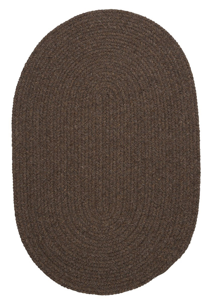 Bristol Bark Outdoor Braided Oval Rugs