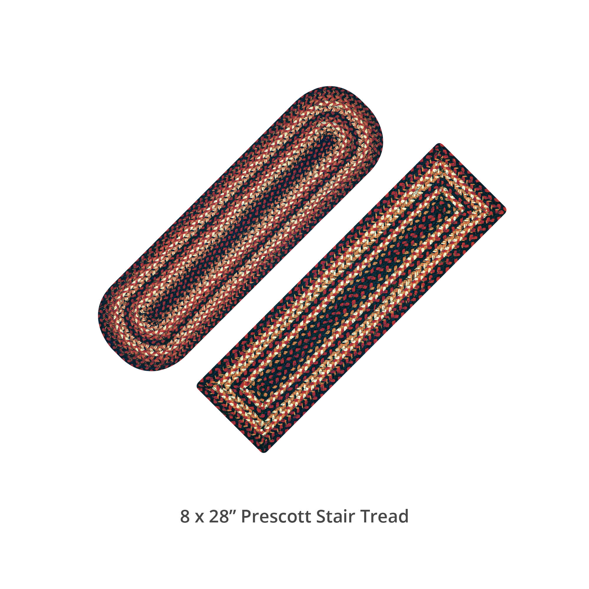 Prescott Jute Stair Tread or Table Runner