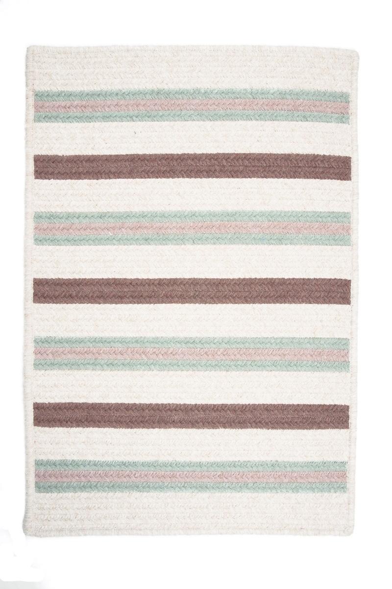 Allure Misted Green Outdoor Braided Rectangular Rugs