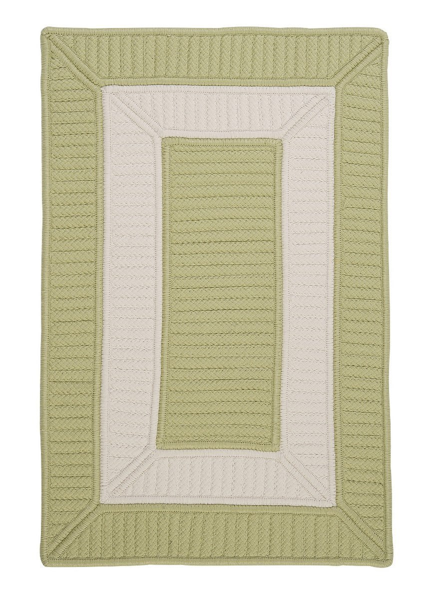 Rope Walk Celery Outdoor Braided Rectangular Rugs