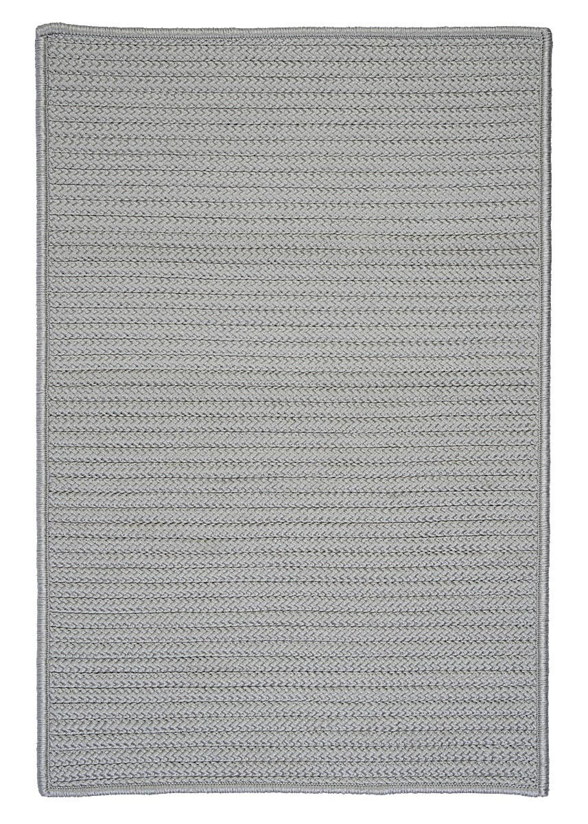 Simply Home Solid Shadow Outdoor Braided Rectangular Rugs