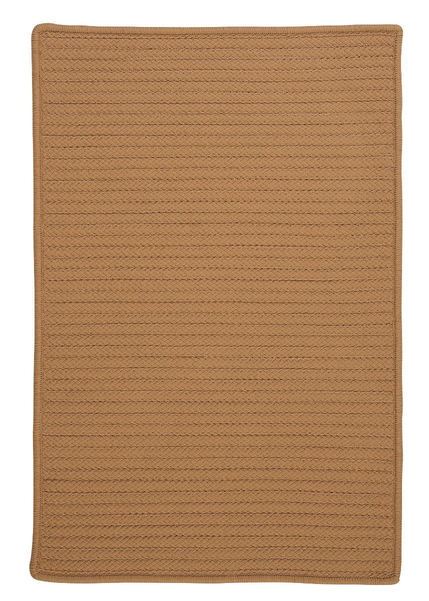 Simply Home Solid Topaz Outdoor Braided Rectangular Rugs