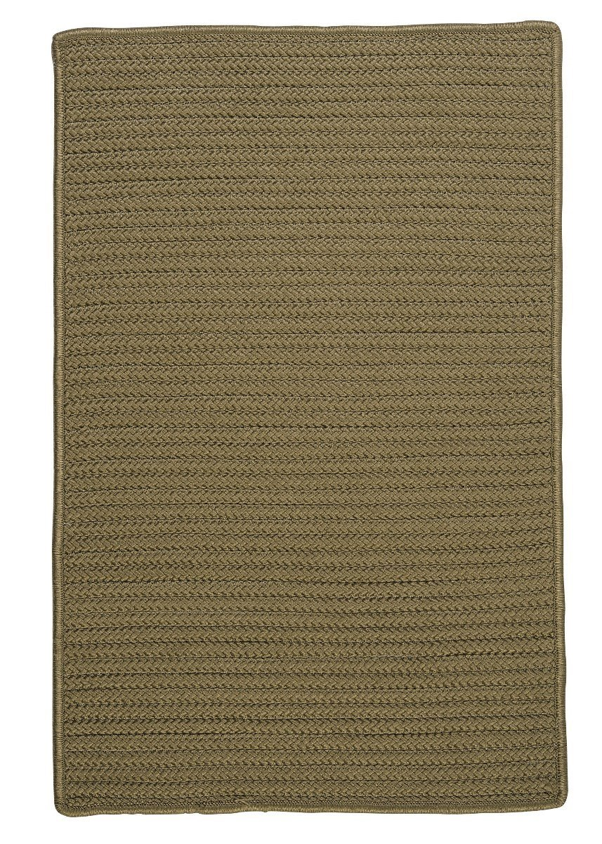 Simply Home Solid Sherwood Outdoor Braided Rectangular Rugs