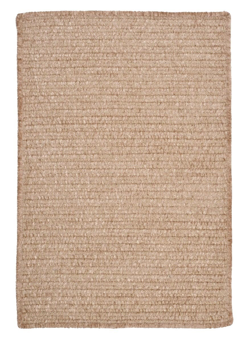 Simple Chenille Sand Bar Outdoor Braided Rectangular Rugs