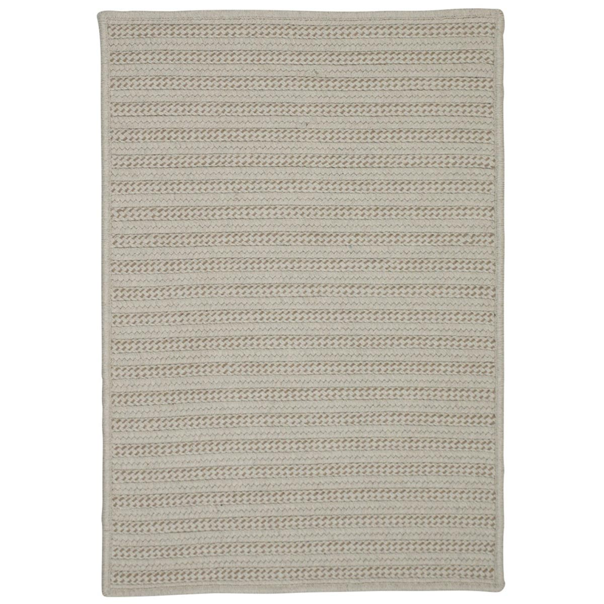 Sunbrella Booth Bay Alpaca Outdoor Braided Rectangular Rugs