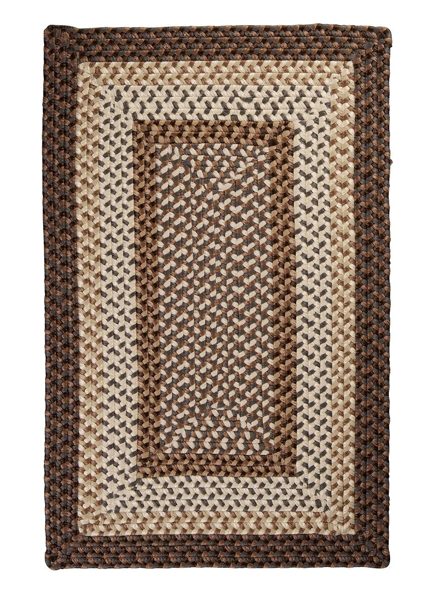 Tiburon Dockside Outdoor Braided Rectangular Rugs