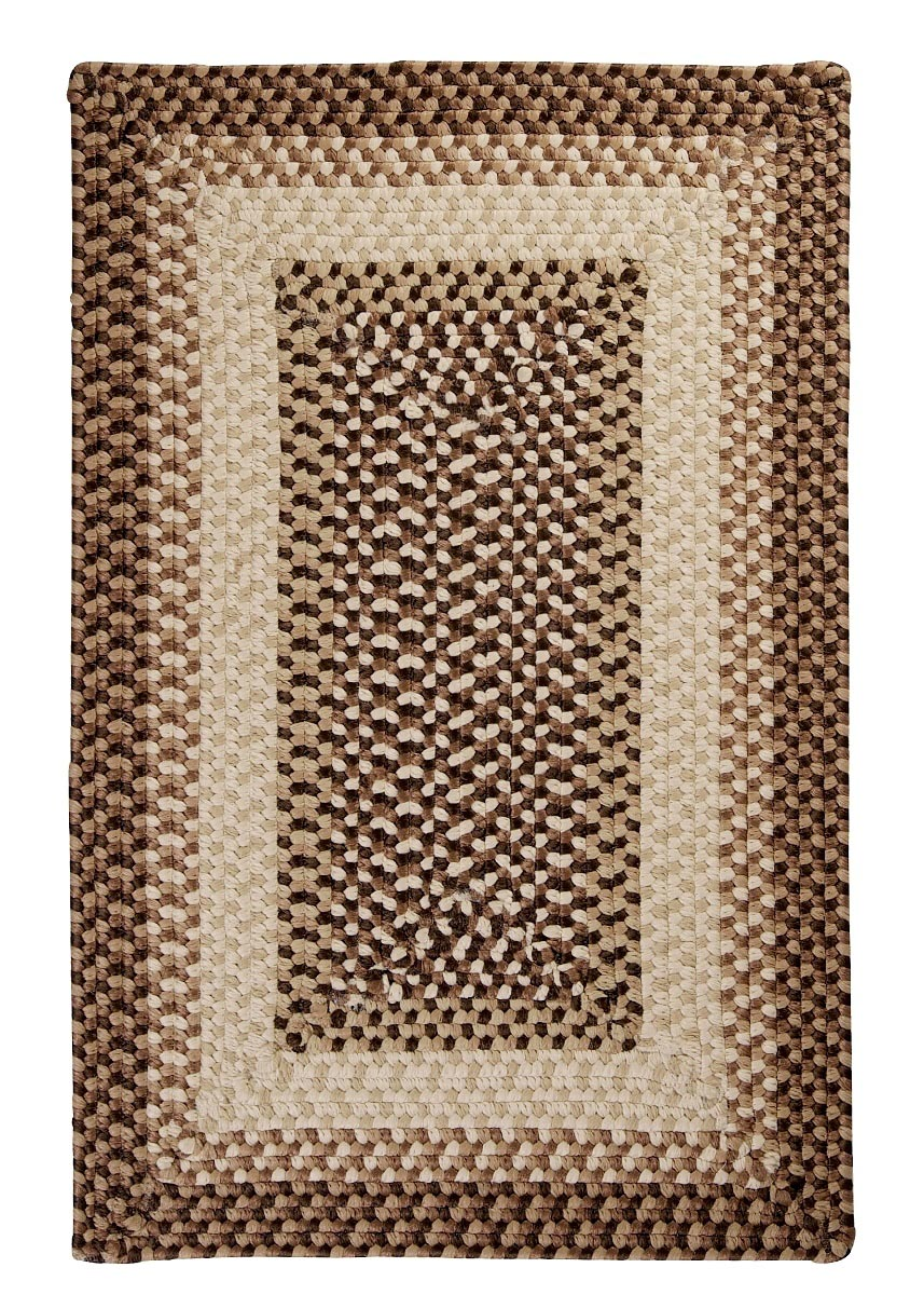 Tiburon Sandstorm Outdoor Braided Rectangular Rugs