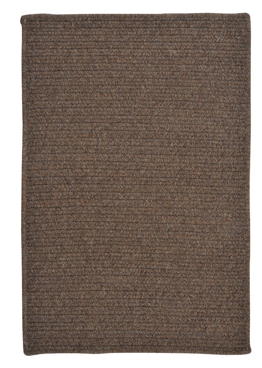 Westminster Bark Outdoor Braided Rectangular Rugs