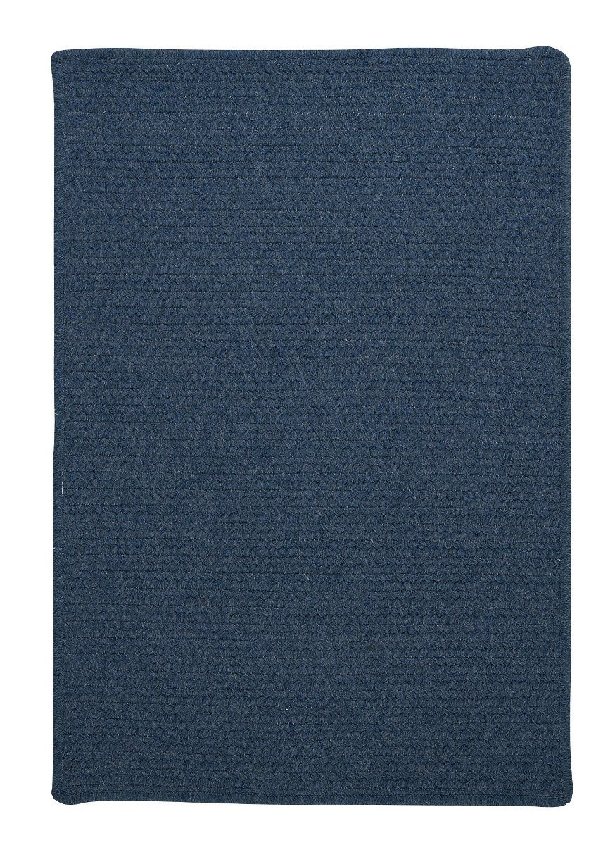 Westminster Federal Blue Outdoor Braided Rectangular Rugs