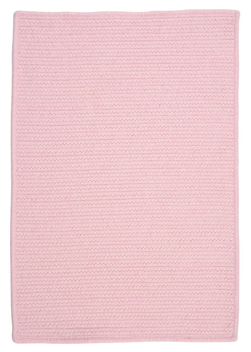 Westminster Blush Pink Outdoor Braided Rectangular Rugs