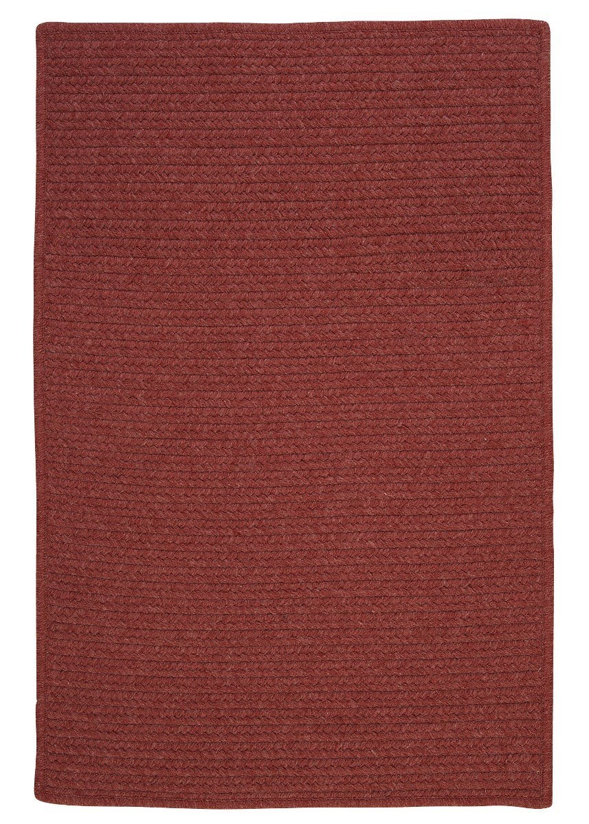 Westminster Rosewood Outdoor Braided Rectangular Rugs