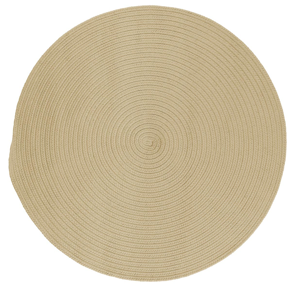 Boca Raton Linen Outdoor Braided Round Rugs