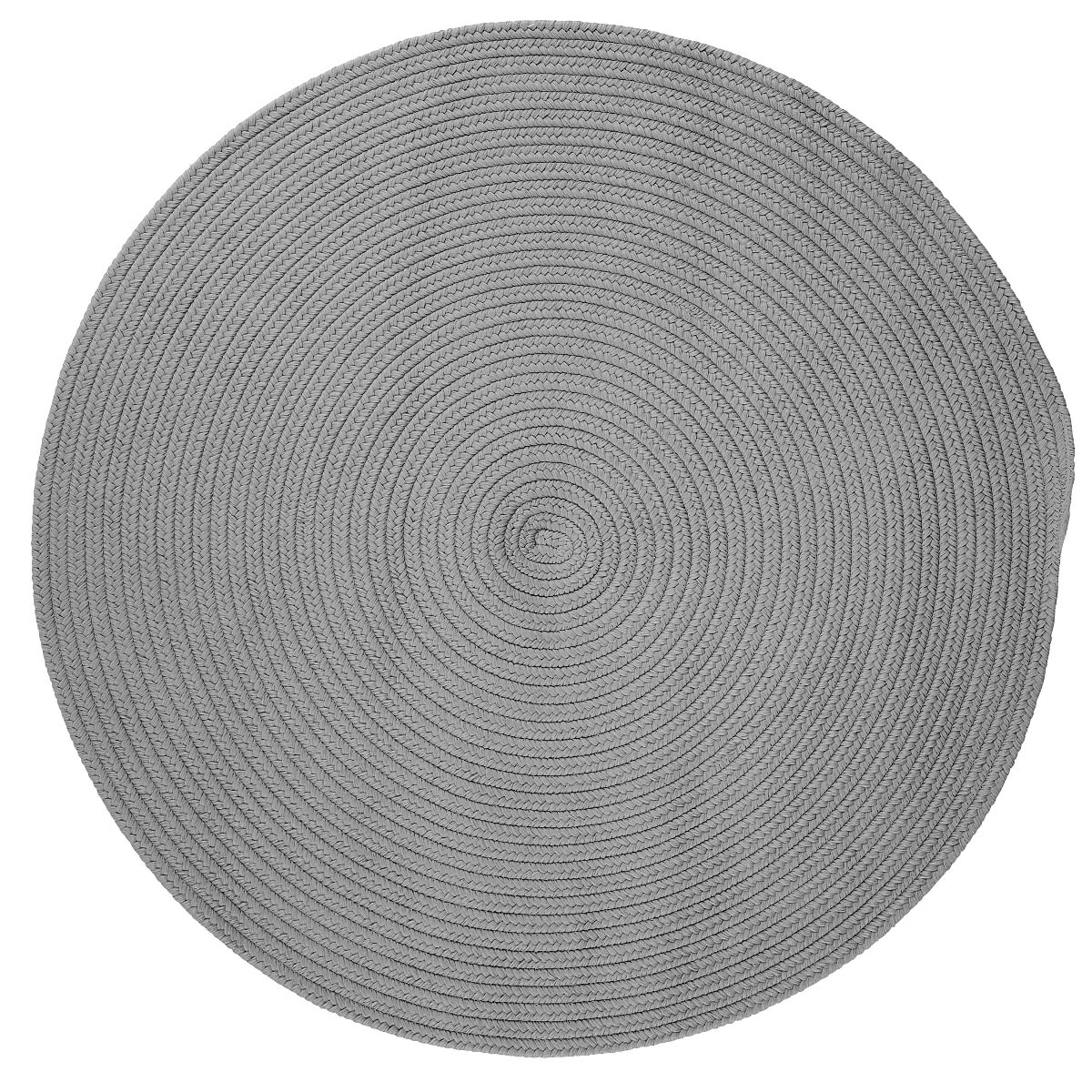 Boca Raton Shadow Outdoor Braided Round Rugs